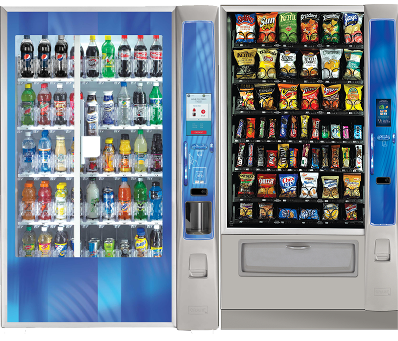 Bloomington and Terre Haute vending machines