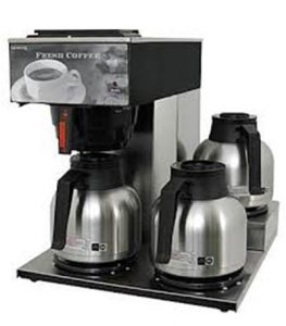 Traditional coffee equipment in Bloomington and Terre Haute