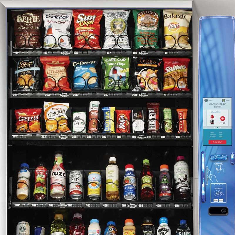 Bloomington and Terre Haute vending machines
